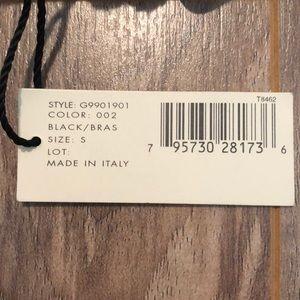 Donna Karan Accessories - NEW Donna Karan black hair belt size S